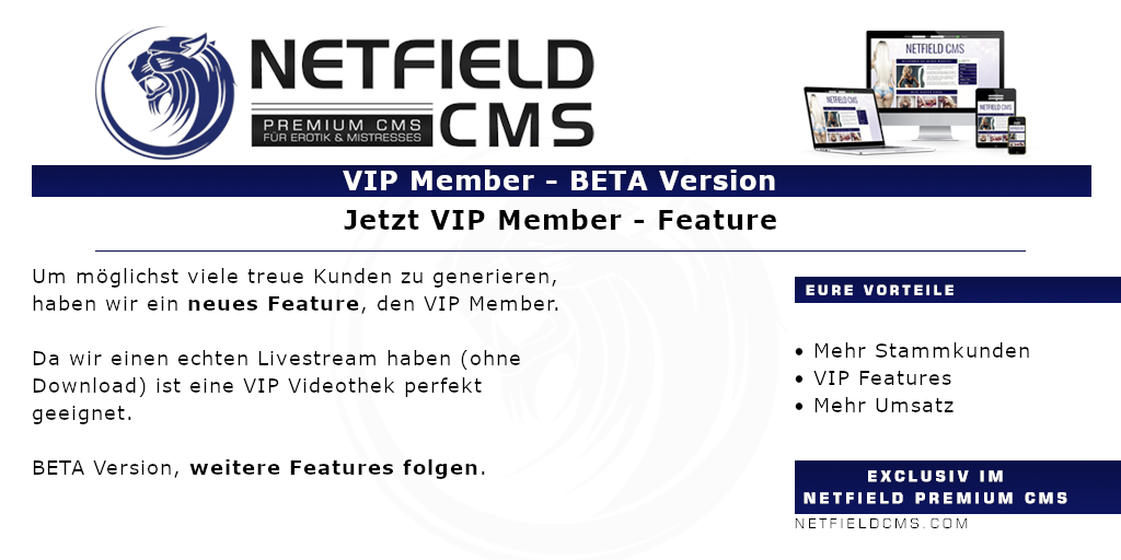 VIP Member - Feature BetaVersion